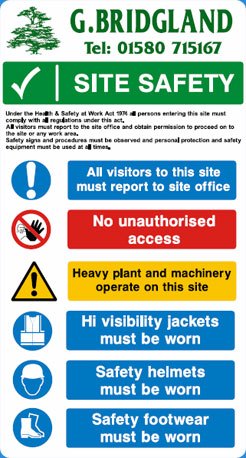 Site Saftey Signs